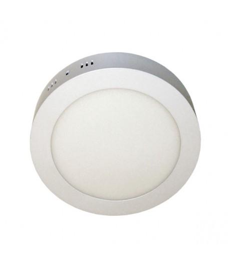 Plafon led redondo 18w luz blanca importadora for Plafon led techo