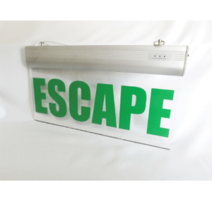 Señaletica emergencia LED ESCAPE